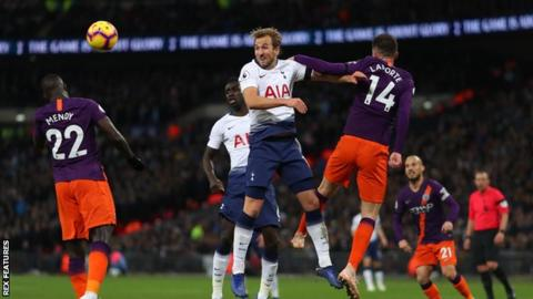 Champions League quarter-finals: Tottenham Hotspur v Manchester City 14