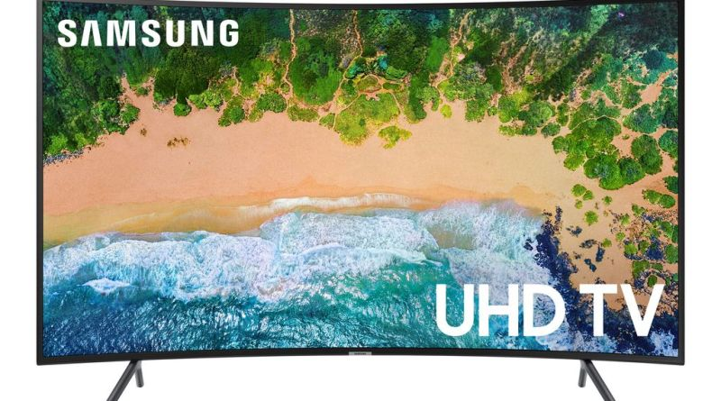 "This 65"" Samsung 4K HD TV Is 50 Percent Off Today Only 10"