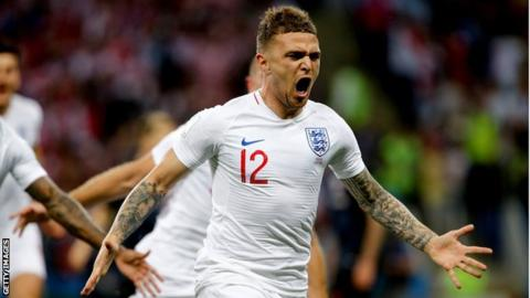 Nations League: England drop Kieran Trippier but Harry Kane included 2