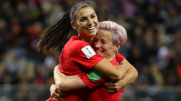 USA 13-0 Thailand: United States claim biggest ever Women's World Cup win 14