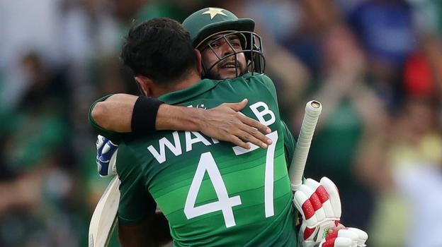 Pakistan beat Afghanistan in Cricket World Cup thriller at Headingley 7