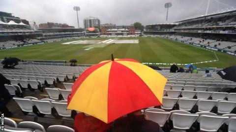 Ashes 2019: Rain washes out first day of Lord's Test 6