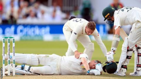 Steve Smith: Australia batsman ruled out of third Ashes Test 3