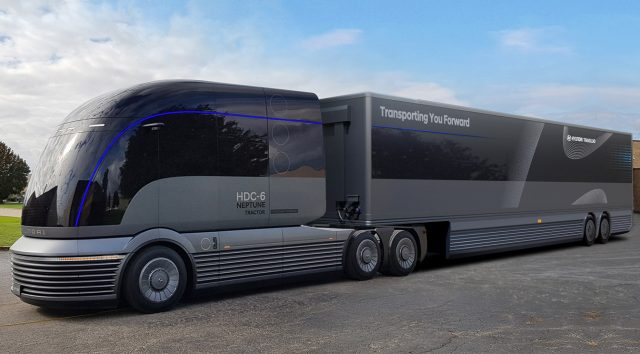 Hyundai Makes the Case for Fuel Cell Trucks With Gorgeous HDC-6 Neptune 5