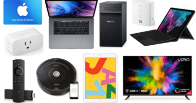 ET Weekend Before Christmas Deals: 15 Percent off $50 Apple Gift Card, $250 off Microsoft Surface Pro 6, iRobot Roomba 675 for $200 6