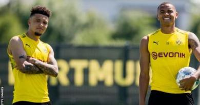Jadon Sancho: Borussia Dortmund forward unhappy over haircut picture fine 2