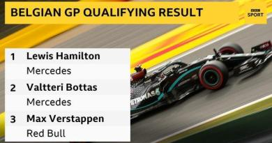 Lewis Hamilton on pole position at Belgian Grand Prix 7