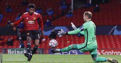 Man Utd 5-0 RB Leipzig: Mason Greenwood, Marcus Rashford hat-trick, Anthony Martial score 4