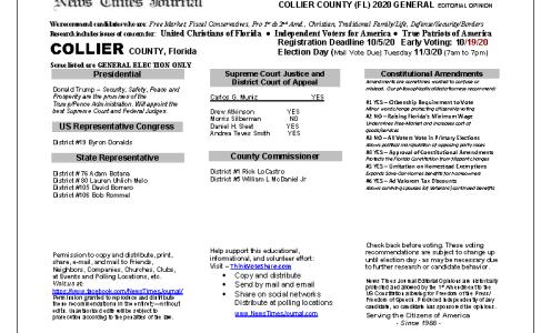 FL Collier 2020 General