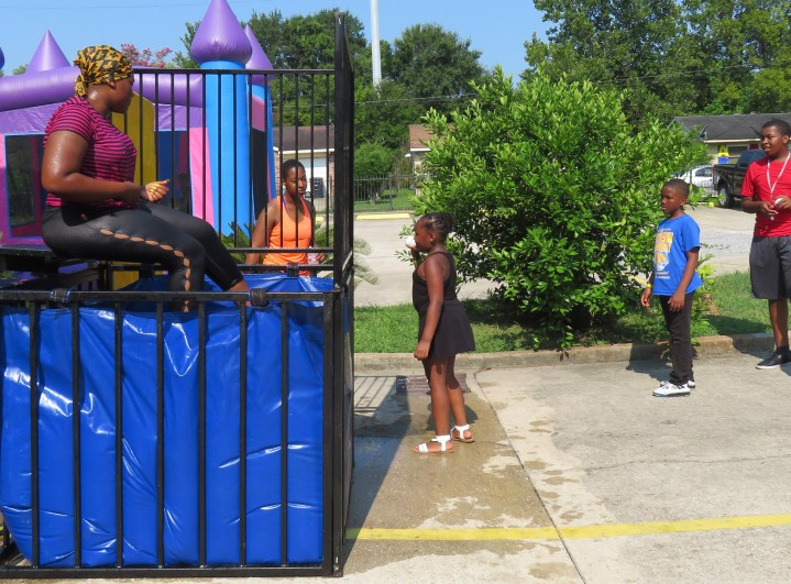 Dunking Booth at NSJ Event