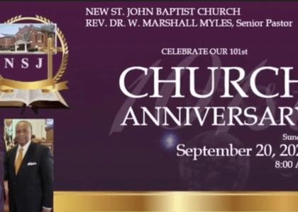 2020 NSJ Church Anniversay