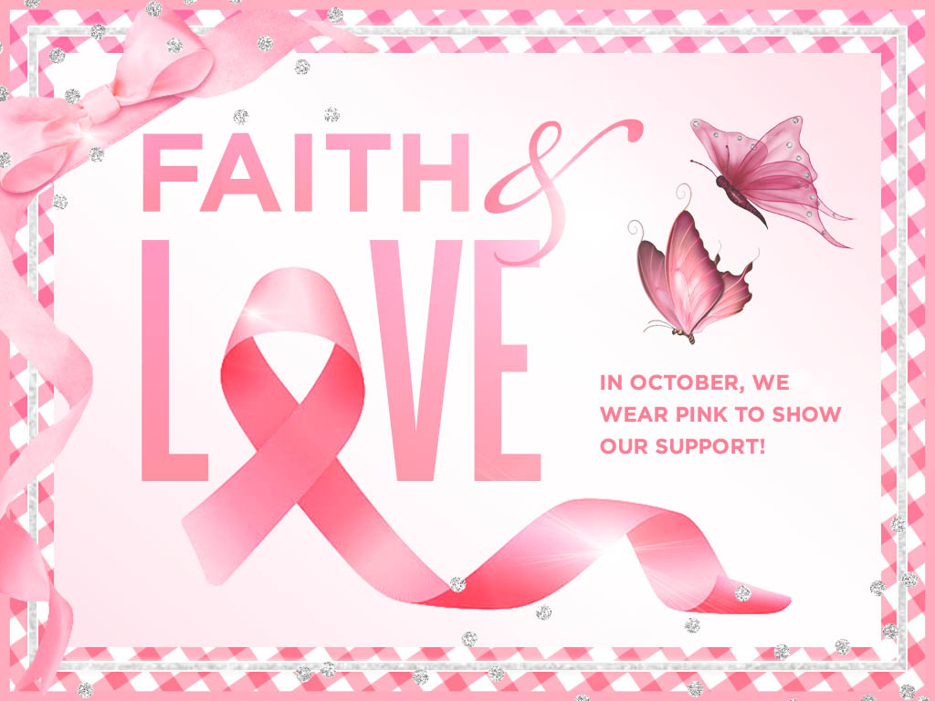 Wear Pink in Support of Breast Cancer