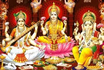 धनधान्यकी देवी लक्ष्मीको पूजा गरेर दीपावली मनाइँदै