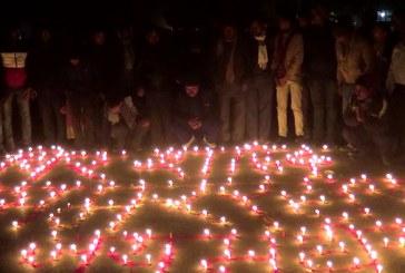 शहीदहरुको स्मृतिमा राजविराज र बिराटनगरमा दीप प्रज्वलन
