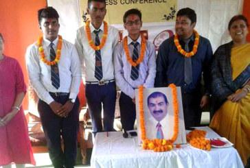 मोनास्टिक स्कुलका तीन विद्यार्थी श्रीलंका जाने