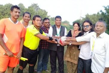 छैठौं मुरारी स्मृति पचशिल्ड फुटबल प्रतियोगिता शुरु