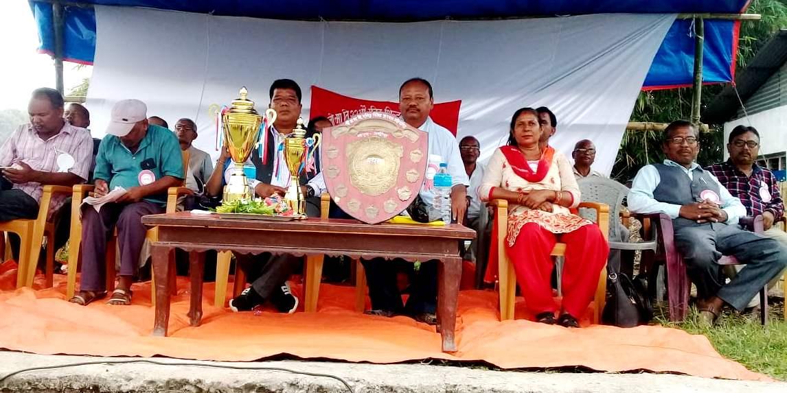 जण्डोलमा रनिङ शिल्ड फुटबल प्रतियोगिता शुरु
