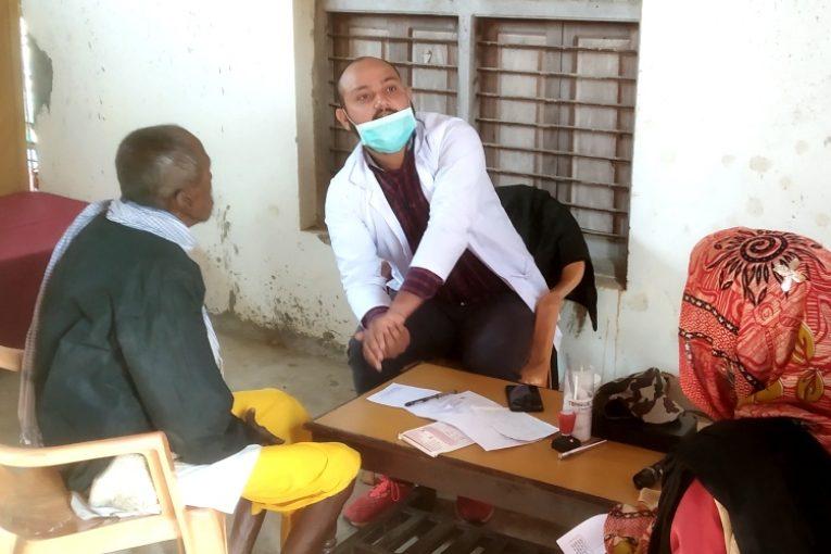 तिलाठी कोइलाडीमा निःशुल्क स्वास्थ्य शिविर सम्पन्न