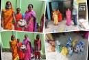 वैवाहिक वर्ष गाँठमा झा दम्पतिद्वारा अति विपन्नलाई खाद्यान्न वितरण