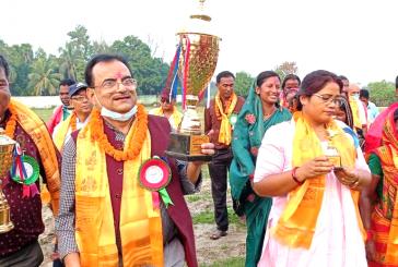 मट्टीगढामा छैंठो पचशिल्ड फुटबल प्रतियोगिता शुरु
