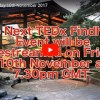 TEDx Findhorn Livestreaming from Universal Hall Friday, 10 November 7.30pm GMT