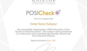 POSICheck certificat