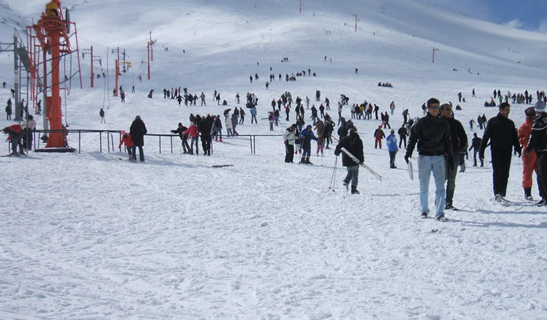 La station de ski L'Oukaïmeden