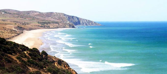 plages du nord du Maroc