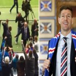 Steven Gerrard Leads Rangers To Their First Scottish Title In 10 Years