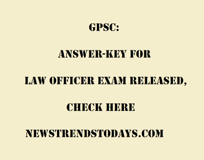 GPSC-Answer-key-for-Law-Officer-Exam