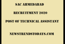 SAC-Ahmedabad-Recruitment-2020