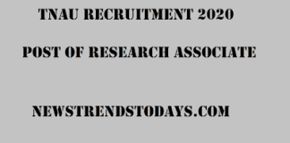 TNAU-Recruitment-2020
