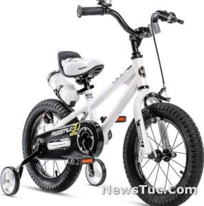 RoyalBabY with Training Wheels Freestyle Kids Bicycle