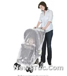 Mosquito Net for Car Jeep Mosquito Seat and Infant Carrier Net for Stroller