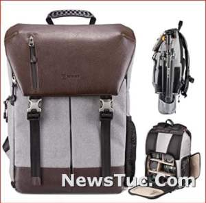 Laptop Compartment Rain Cover Waterproof TARION Camera Backpack
