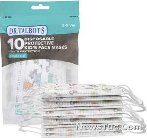 Personal Health, Boy 2-5 Years Imported Dr. Talbot's Disposable Kid's Face Mask