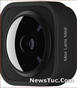 Super wide Official GoPro Accessory Max Lens full 360° Mod for HERO9 Black