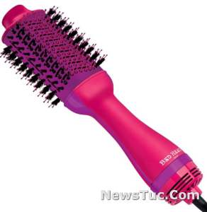 Pink One-Step Bed Head Hot Air Brush