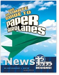 Create and Customize Creativity for Kids Paper Airplane Paperback Toy