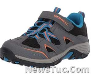 GRIP for flexible Rubber sole convenient hook Merrell Unisex-Child Trail Chaser Sneakers