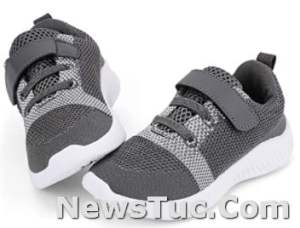Running Sports Nerteo Toddler Little Kid Boys Girls Elastic band Rubber sole Shoes Sneakers