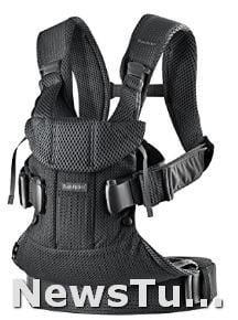 Mesh Black One Size BabyBjörn One Air Edition Infant Baby Carrier