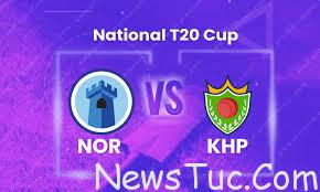 LIVE Northern vs KP Match 30 National T20 Cup