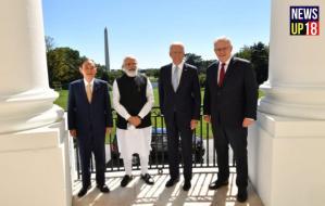 PM Narendra Modi ( नरेंद्र मोदी ) with Joe Biden & 2 Others