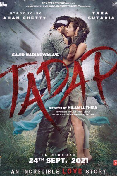 Tadap Movie 2021 Poster