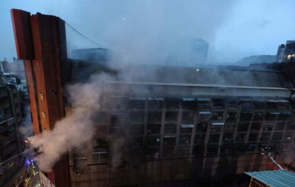 46 Dead, Dozens Injured After Fire Breaks Out In Taiwan Building