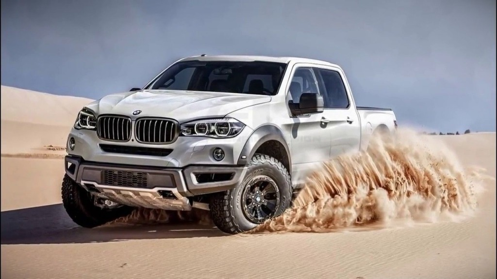 2020 BMW Pickup Truck Wallpapers