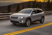 2020 Jeep Cherokee Trailhawk Spy Shots