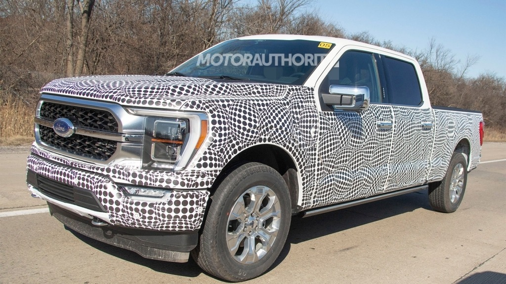 2021 Ford F350 Spy Photos