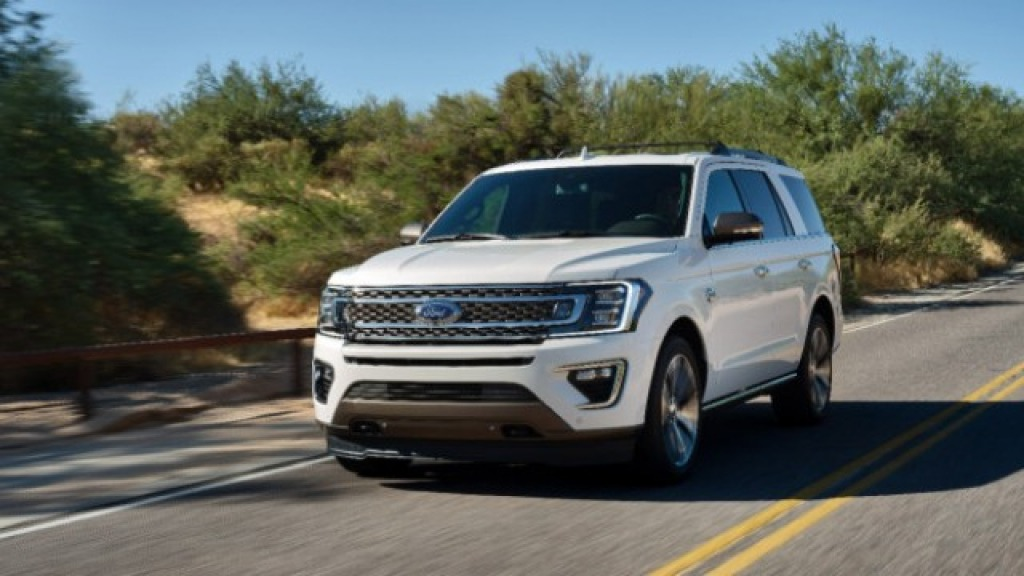 2022 The Ford Expedition Spy Photos